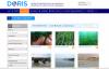 Page d'accueil de l'onglet DORIS habitats